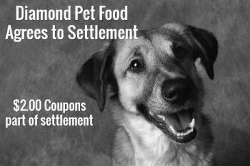 Coupons as Diamond Pet Food Settlement?