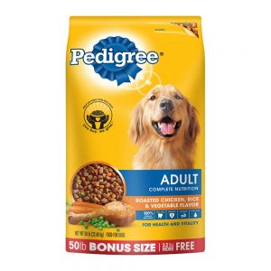 Pedigree from Walmart website