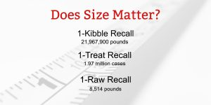 The Magnitude of Pet Food Recalls