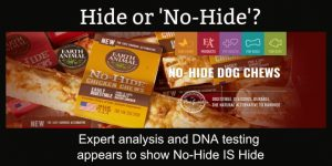 Is No-Hide Dog Treat Actually Hide?