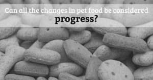 Is Change in Pet Food a Good Thing?